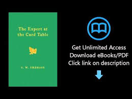 expert at the card table pdf pdf the expert at the card table the classic treatise on card