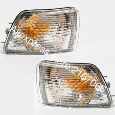 turn signal parking light assembly front turn signal lights fits mitsubishi galant 1988 1989 1990 1991