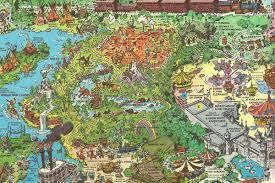 Tumbleweed Park Map The Wonders Of Nature U0027s Wonderland Part 1 Imagineering Disney