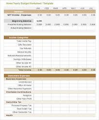 Excel Spreadsheet Template For Budget Budget Spreadsheet Template Lisamaurodesign