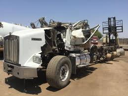 kenworth chassis salvage 2 trucks for parts in phoenix arizona westoz phoenix