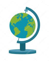 World Map Icon by Spinning World Map Icon U2014 Stock Vector Jemastock 118290030