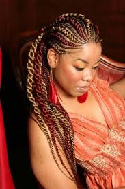 cornrow hair to buy different colour the different sizes of the lines and the different colours enhance