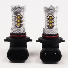 2 super white cree headlights bulbs lamps for honda 80w led bulbs