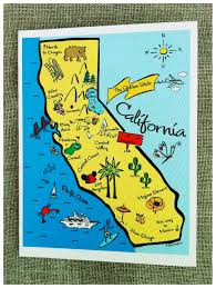 Maps For Kids Map Of California For Kids You Can See A Map Of Many Places On