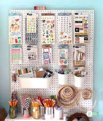 kitchen pegboard ideas get your craft room organized creatively organized