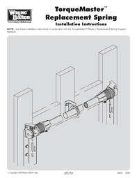 Overhead Garage Door Opener Manual by Spring Replacement Archives Garage Door Dyi Info Torsion