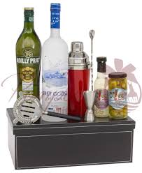 martini gift basket martini madness vodka gift basket make mine