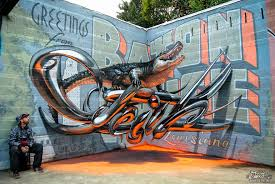 3d mural portuguese street artist odeith will trick your mind with his