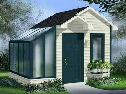 Garden Shed Plan Garden Shed Plans Garden Shed With Greenhouse 072s 0020 At