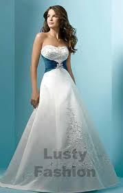 strapless wedding dresses lustyfashion