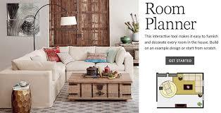 living room floor planner room planner pottery barn