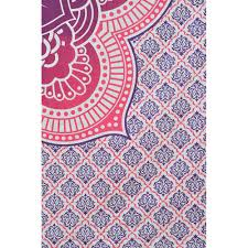 Pink Ombre Rug Mandala Pink Pruple Ombre Indian Hippy Wall Hanging Tapestry
