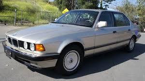 1989 bmw 750il v12 12 cylinder s600 1 owner 128k orig mi youtube