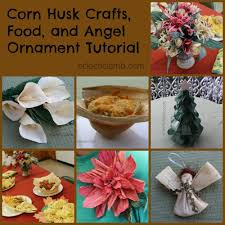 corn husk tutorial food and crafts eclectic