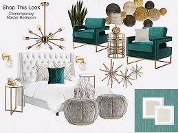 design allure shop this look contemporary master bedroom