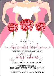 bridesmaids invites bridesmaids luncheon invitations boutique bridesmaids