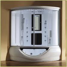 corner tub shower combo home design ideas