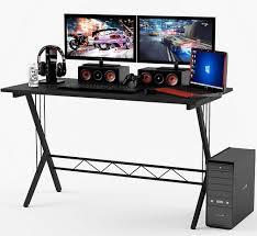 cheap gaming computer desk gaming station computer desk ultimate computer setups cool computer