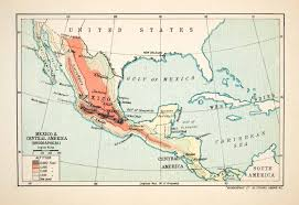 Political Map Of Mexico Political Map Of Mexico Central America And The Caribbean You