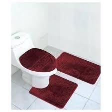Bathroom Contour Rug Contour Bath Rugs Burgundy Bathroom Rug Set Lid Cover Bath Mat