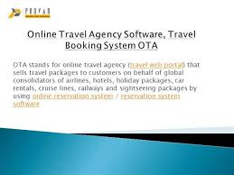 online travel agency images Online travel agency software travel booking system ota authorstream jpg