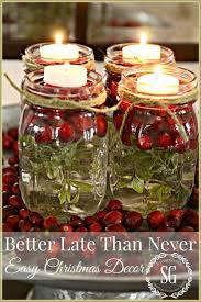 mason jar candles christmas decor super easy to make these little