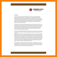 11 business letterhead examples job apply form