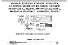 jvc kd r330 car stereo wiring diagram wiring diagram