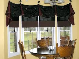 kitchen bay window decorating ideas kitchen bay window curtains ideas alhenaing me