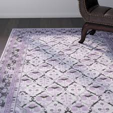 purple rugs you u0027ll love wayfair