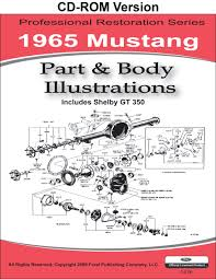 1965 mustang part and body illustrations ford motor company