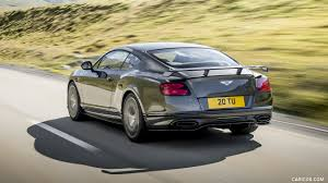 2018 bentley continental gt supersports rear three quarter hd