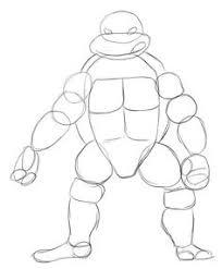 draw ninja turtle google 1st