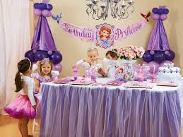 sofia the birthday party ideas sofia the birthday party ideas party planner