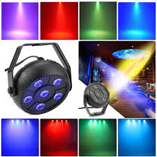 gopher stage lighting store mini 13w dj laser disco ball stage light 6 led rgb wash effect