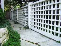 Patio Fence Ideas Stunning Design For Lattice Fence Ideas Lattice Fence Designs