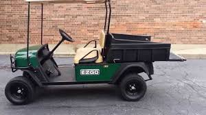 2010 ezgo st sport 400 gas utility vehicle golf cart with dump