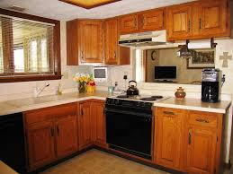 Kitchen With Wood Cabinets Stylish Kitchen Color Schemes