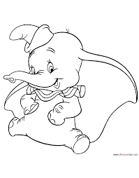 dumbo coloring pages disney coloring book