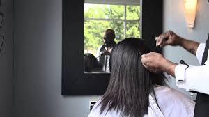 perfect silk press and hair cut natural hair top salon in