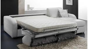 canapé lit blanc canapé convertible 3 places cuir urbantrott com