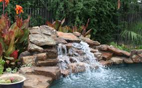 rock waterfalls for pools water features ft worth rock waterfalls keller