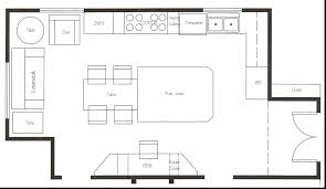 cafe kitchen floor plan kitchen layouts plans 12 popular layout design ideas pantry and
