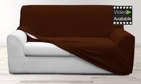 housse de canap et fauteuil extensible spectacular idea housse de canap extensible groupon shopping goods global gmbh mod les et coloris au choix jpg