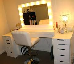 under desk hutch lighting makeup desk light gallery images of magnificent with regarding