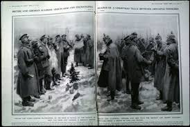 christmas truce december 1914 think in pictures