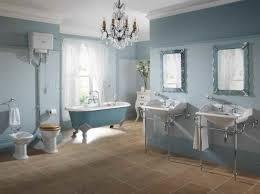 bathroom clawfoot bathtub and double bathroom vanities with wall