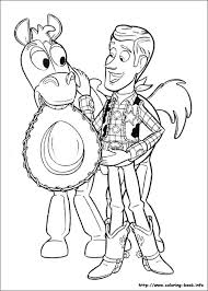 story 3 coloring picture