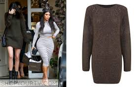 jenner sweater kuwtk season 10 episode 9 kendall s sweater dress shop your tv